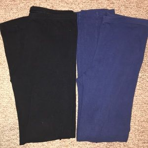 Bundle of 2 Old Navy full length leggings L